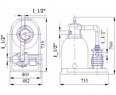 Фильтровальная установка 6,0 м3/ч Kripsol Toledo (TTO406-33)