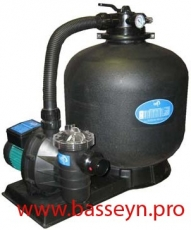 Фильтровальная установка 6,0 м3/ч Emaux Opus (FSP400-4W)