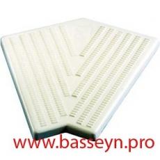 Угол 45гр. для переливной решетки (300мм Н34) Kripsol RS 301.С