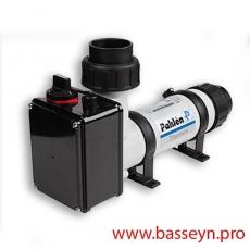 Электронагреватель пласт.корпус (3 кВт) с датчиком потока Pahlen (141600)