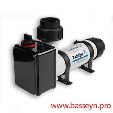 Электронагреватель пласт.корпус (15 кВт) с датчиком потока Pahlen (141604)