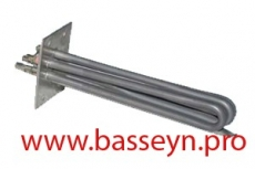 ТЭН мощностью  15 кВт для электронагревателя в пластиковом корпусе Pahlen (141041/632124)