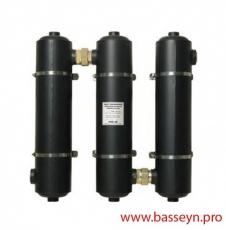 Теплообменник бассейна ( 40 кВт) (вертик.) Pahlen MAXI-FLO 135