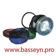 Прожектор для гидромассажных ванн пластиковый (20Вт/12В) (cветофильтр в комп.) Emaux ULP-50 (Opus)
