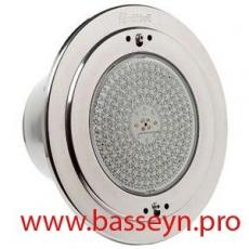 Прожектор из нерж.стали (50Вт/12В) с LED диодами красн, син, зел цветов (плитка) Pahlen (123281)