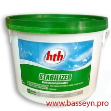 HTH Стабилизатор хлора в гранулах 3 кг.