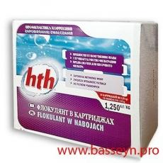 HTH Флокулянт в картриджах 1,25 кг. (коагулянт)