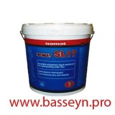 ISOMAT SL17 Жидкая эластичная мембрана для устройства гидроизоляции под плиткой 5кг.