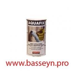 AQUAFIX Быстросхватывающийся гидравлический цемент для моментальной остановки протечек воды 1кг.