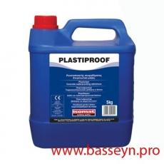 PLASTIPROOF Пластификатор бетона типа А Добавка - гидроизолятор бетона 5кг.