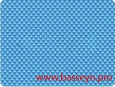 """Пленка ребристая ПВХ """"Alkorplan 2000"""" синяя 25х1,65м."""