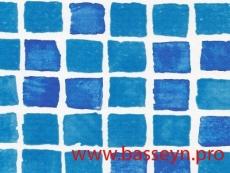 "Пленка ПВХ Alkorplan 3000 ""Mosaic"" мозаика (размытая) 25х1,65м."