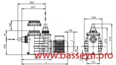 Насос с префильтром  Speck BADU Magic 6 6,00 м3/ч 0,45 кВт 220В