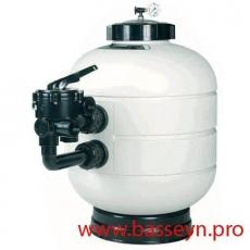 Фильтр песочный Astral Millenium D380 с боковым вентилем 5,5 м3/ч