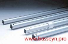 Штанга телескопическая алюминиевая для пылесоса, с ручкой, 1,8-3,6 м IML
