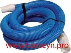 Шланг гофрированный для очистки бассейна IML длина 15 м. D=38 мм