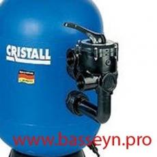 """Вентиль 6-ти поз. (боковой 2"""") для фильтра Cristall D750, D900 Behncke (39250009)"""