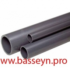 Труба НПВХ напорная 63мм (стенка 2,0мм.)