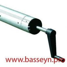 Сматывающее устройство Flexinox передвижное 4,3-5,7м