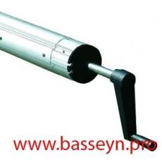 Сматывающее устройство Flexinox фланцевое крепление 2,5-4,5 м.