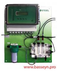 """Контроллер pH и свободного хлора  """"PNL EF214 pH/Rx/T/CL"""""""