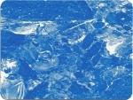 Лайнер с акриловым лаковым покрытием CEFIL  светлый мрамор.  25х1,65м.