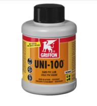 Клей для ПВХ GRIFFON UNI-100 (бутылка с кисточкой) 0,25 л.